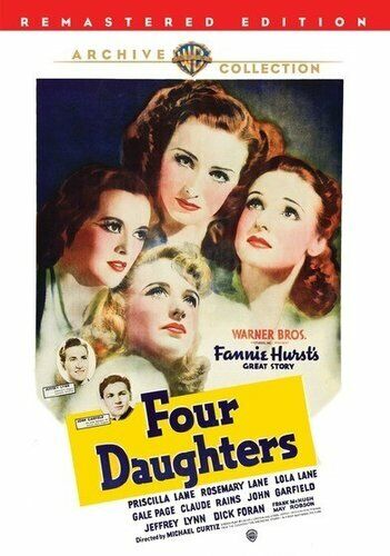 Four Daughters (1938) DVD NEW