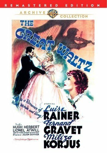 The Great Waltz (1938) DVD NEW