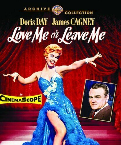 Love Me or Leave Me (1955 Doris Day) BLU-RAY NEW