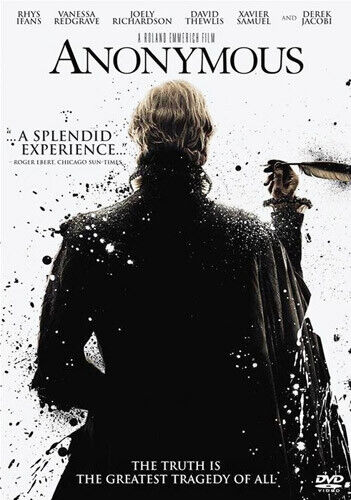 Anonymous (2011 Rhys Ifans) DVD NEW