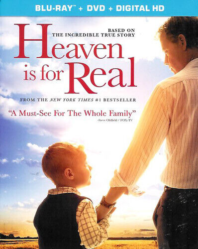 Heaven Is for Real (2 Disc, Blu-ray + DVD) BLU-RAY NEW