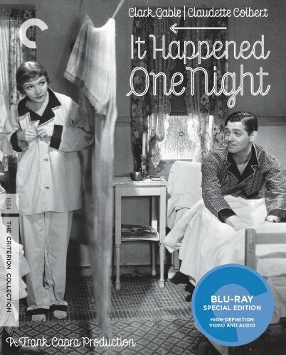 It Happened One Night (The Criterion Collection, Mastered in 4K) BLU-RAY NEW