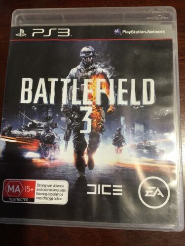 BATTLEFIELD 3 PS3 Very Good Condition Disc & Manuel