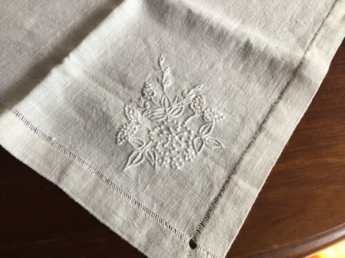 Vintage Cream Linen Suppercloth