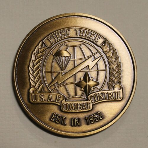 Combat Control Team Association Special Operations Air Force Challenge CoinOriginal Period Items - 156451