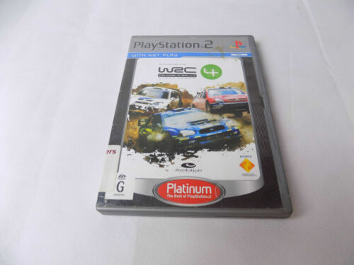 Mint Disc Playstation 2 Ps2 WRC 4 Fia World Rally Championship Free Postage