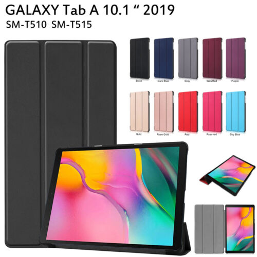 """For Samsung Galaxy Tab A 10.1"""" T510 T515 Slim Magnetic Folding cover Flip Case"""