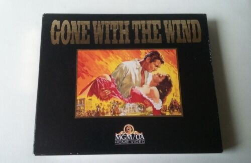 Gone With The Wind MGM/UA Home Video - Exclusive Australia & NZ 2 VHS Video Pack
