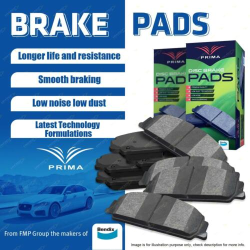 Top Performance Brake Pads from the makers of Bendix DB1267 Front