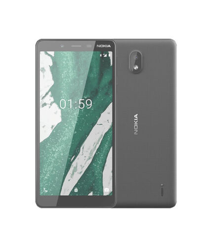 "Unlocked Nokia 1 PLUS 5.45"" FullView 4G All Sims Android 9 Pie 8GB Black"