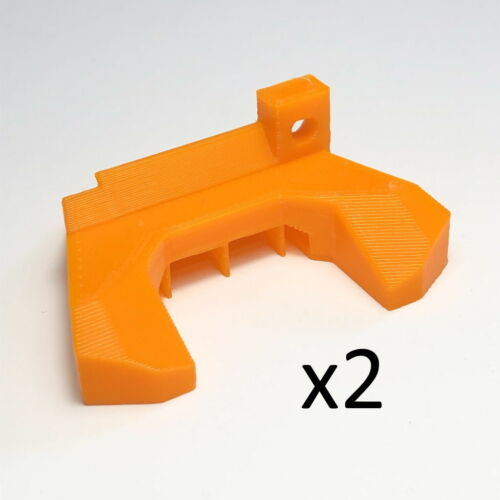 2 x Prusa i3 MK2.5/MK3 R3 Revision Fan Nozzle Shroud printed in ABS