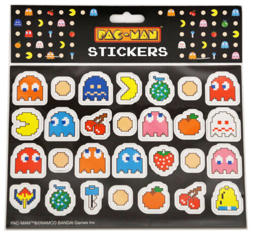 PAC-MAN Stickers | BRAND NEW IN PACKAGING