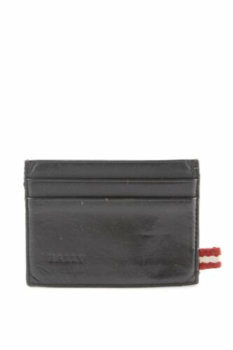 BALLY Custodie portacarte nero stile casual Donna Borsa Pelle