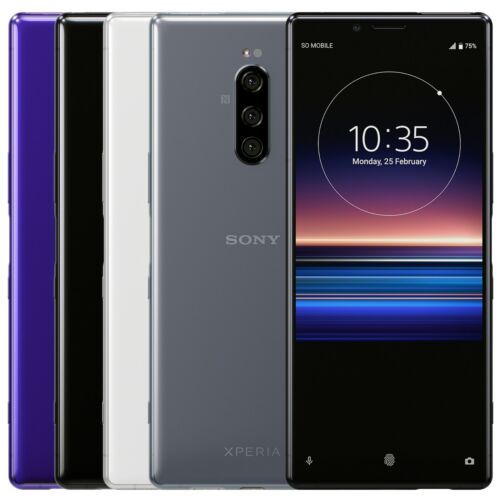 """Sony XPERIA 1 J9110 128GB 6GB RAM (FACTORY UNLOCKED) 6.5"""" OLED Dual Sim <br/> ✤ in Stock ✤ Ship Worldwide ✤ USA Seller ✤ Top Rated"""