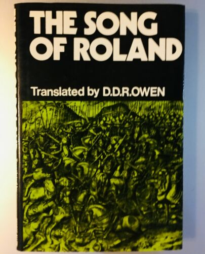 The Song of Roland tr. D. D. R. Owen hardcover  9780048410023 1972