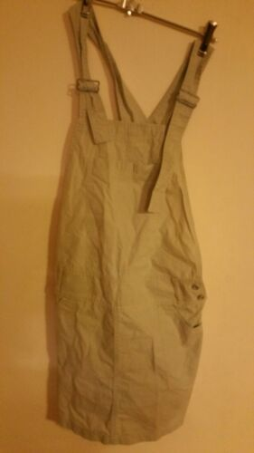 Womens Beige Pinafore Sz Large Tiffany Made In Serbia