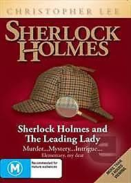 SHERLOCK HOLMES AND THE LEADING LADY Christopher Lee Brand New Sealed!