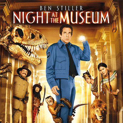 Night At The Museum (DVD, 2007) slipcase edition brand new free post!!
