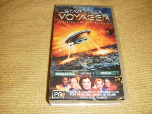 STAR TREK VOYAGER Charting The New Frontier 6.13 VHS TAPE NEW SEALED VIDEO PAL
