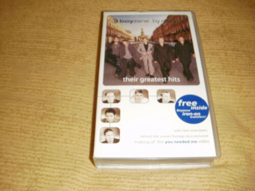 rare BOYZONE By Request 1999 VHS TAPE Their Greatest Hits music PAL VIDEO