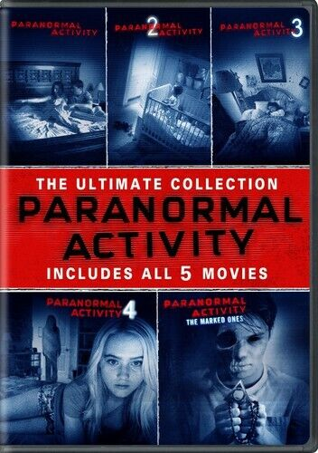 Paranormal Activity 1 / 2 / 3 / 4 / 5 - The Ultimate Collection (5 Disc) DVD NEW