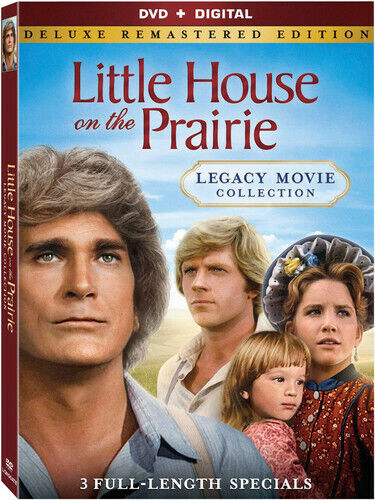 Little House on the Prairie: Legacy Movie Collection (2 Disc, Deluxe) DVD NEW