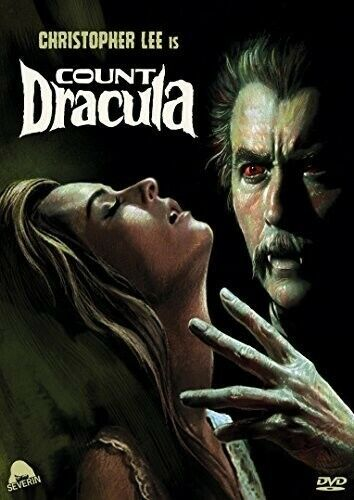 Count Dracula (1970) (Christopher Lee) DVD NEW