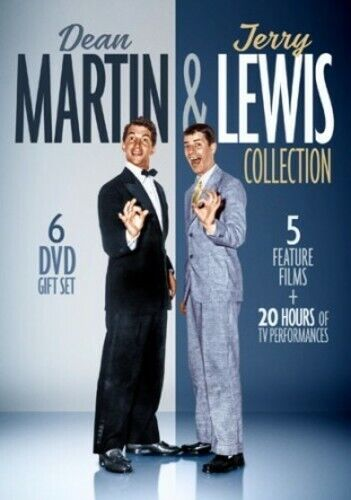 Dean Martin and Jerry Lewis Collection (6 Disc) DVD NEW