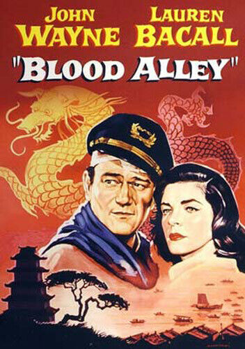Blood Alley DVD NEW