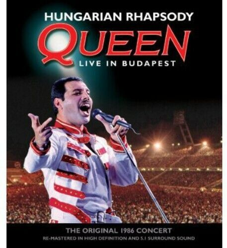 Queen: Hungarian Rhapsody - Live in Budapest 1986 BLU-RAY NEW