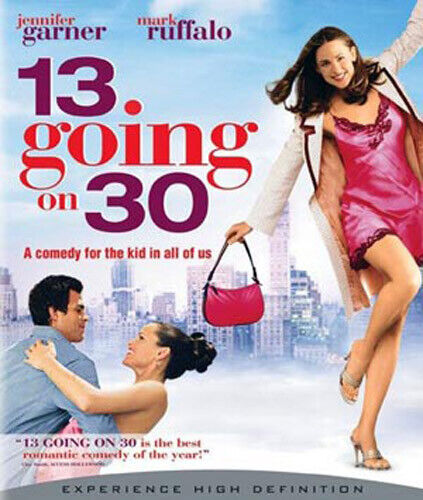 13 Going on 30 (Suddenly 30) BLU-RAY NEW