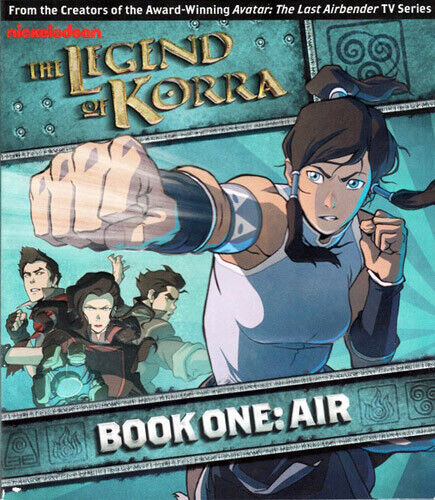 The Legend of Korra - Book One: Air (2 Disc) BLU-RAY NEW