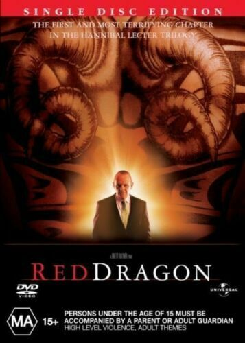 RED DRAGON New Dvd ANTHONY HOPKINS ***