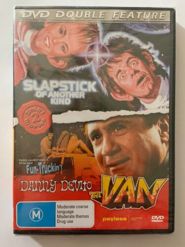 Double Feature Slapstick of Another Kind & The Van (dvd) New Sealed Danny Devito