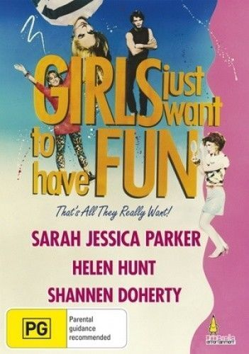 GIRLS JUST WANT TO HAVE FUN DVD NEW AND SEALED