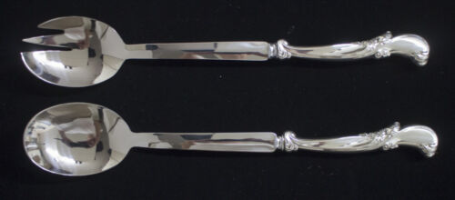 WALLACE WALTZ OF SPRING STERLING SALAD SET