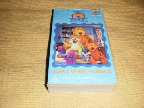 BEAR IN THE BIG BLUE HOUSE Home is Where The Bear Is VHS TAPE abc kids VIDEO PAL