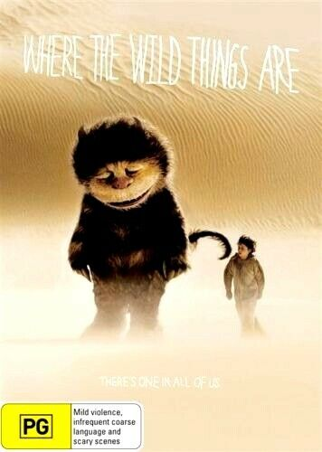 WHERE THE WILD THINGS ARE New Dvd MARK RUFFALO ***