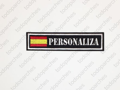 Parche bordado NAME TAPE ESPAÑAParches - 4725