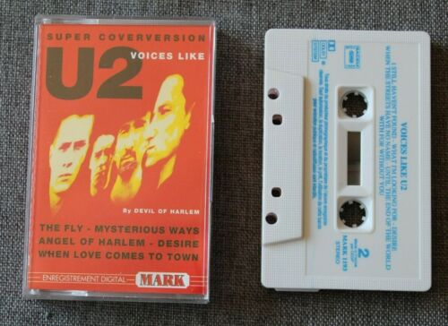 Voices like U2 by Devil of Harlem - cover , K7 audio / Audio tape