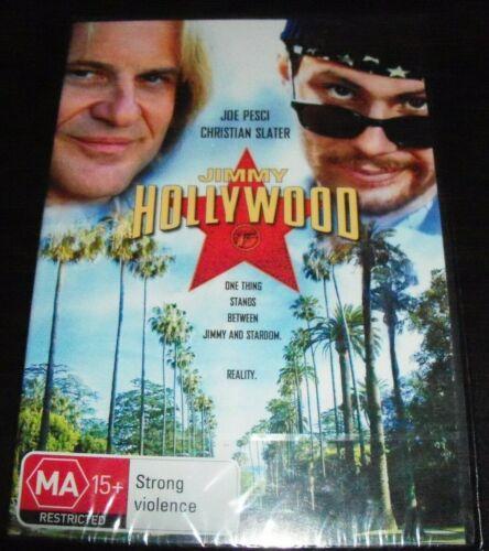 Jimmy Hollywood (Joe Pesci Christian Slater) (Australia Region 4) DVD – New