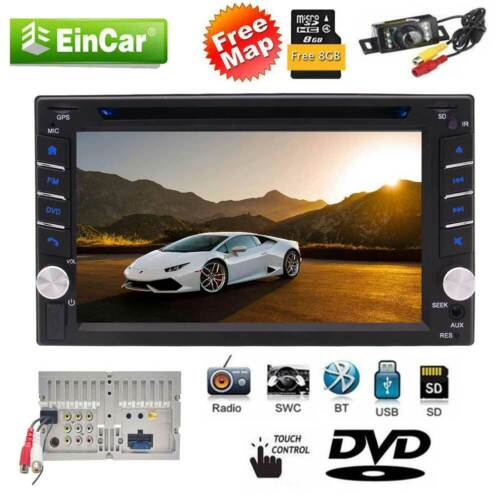 """NEW 6.2"""" Double 2 DIN Car DVD GPS Player Stereo Head Unit Touch Screen Radio AU"""