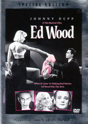 Ed Wood (1994 Johnny Depp) (Special Edition) DVD NEW