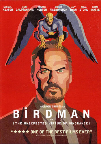 Birdman: Or (The Unexpected Virtue of Ignorance) DVD NEW