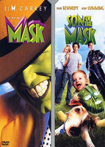 The Mask (1994) / Son of the Mask DVD NEW