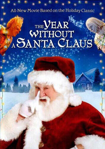 The Year Without a Santa Claus (2006 John Goodman) DVD NEW