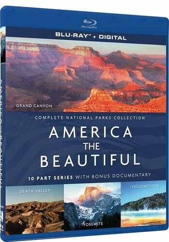 America the Beautiful: National Parks Collection (3 Disc) BLU-RAY NEW