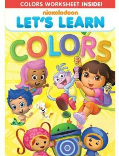 Nickelodeon: Let's Learn: Colors DVD NEW