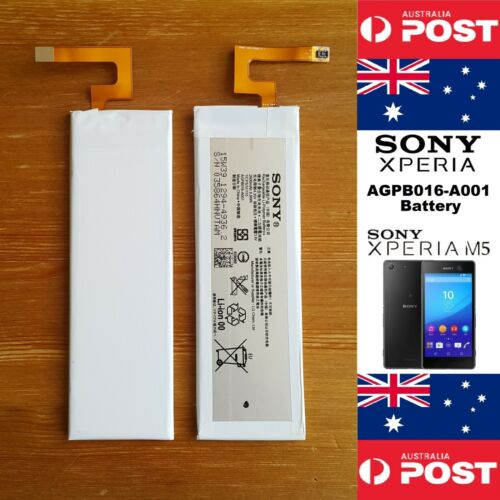 GENUINE SONY Xperia M5 Battery AGPB016-A001  2600mAh - Local Seller Free Postage