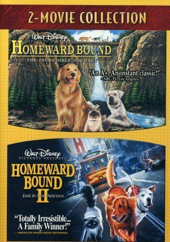 Homeward Bound 1 & 2: The Incredible Journey & Lost in San Francisco DVD R1 I II